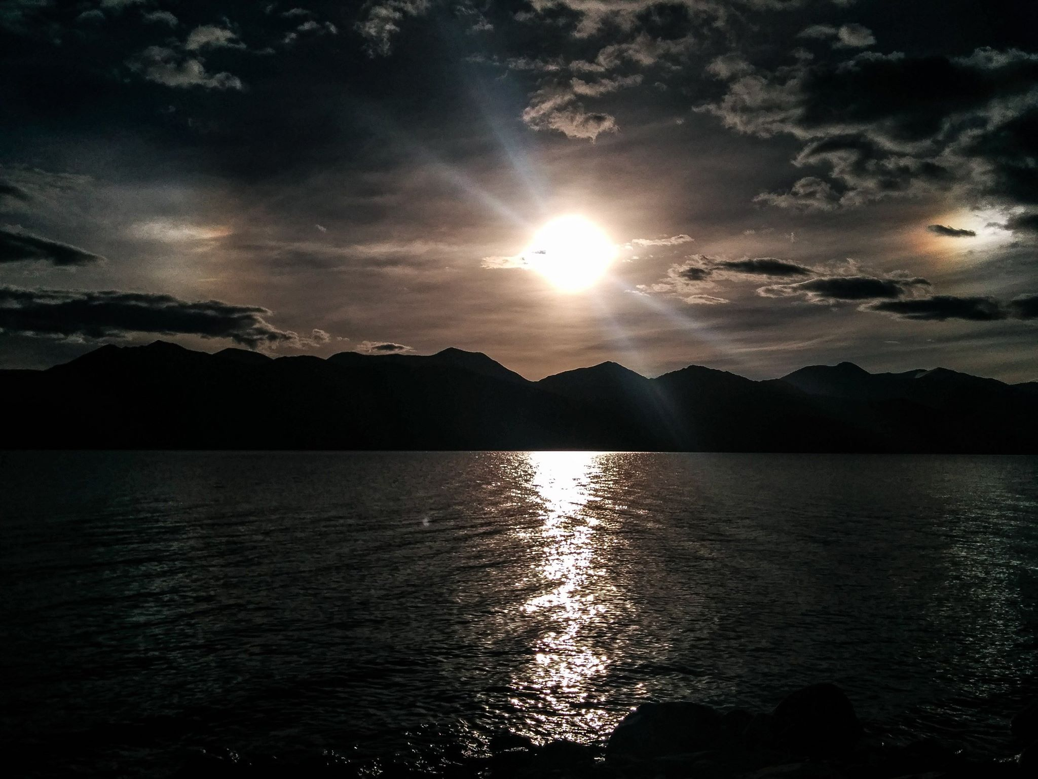 sunrise@pangong